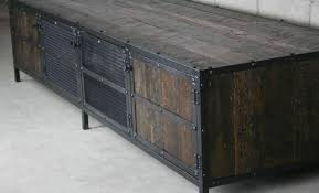 file cabinet tv stand tv beautiful vintage industrial tv stands custom made vintage