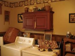 Primitive Laundry Room Decor A Primitive Place Primitive Colonial Inspired Laundry Rooms