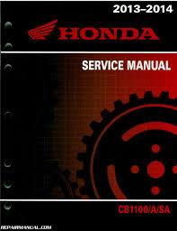 2013 u2013 2014 honda cb1100 a service manual by repairmanual ebay
