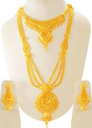 bridal gold set gold necklace sets 22 karat sets necklace and earings 22