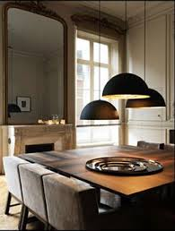 Dining Room Hanging Lights Loft Pendant Lamp Retro American Industrial Black Iron Rectangular