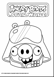 fabulous angry birds coloring pages with angry birds star wars