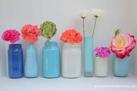 Diy Vase Decor Diy Painted Mason Jar Vases Crafts Diy Home Decor Party Ideas
