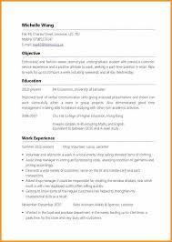 Resume For Cook Job by Student Part Time Job Resume Best Resume Collection
