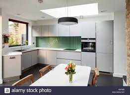 dining table in kitchen skylight in kitchen stock photos u0026 skylight in kitchen stock