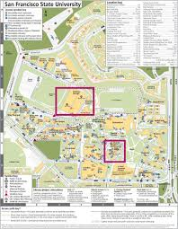 Berkeley Campus Map Swe Region A Leadership Summit Getting There