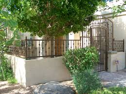 exterior design charming rod iron fence design with front gate