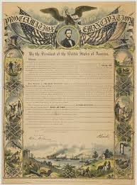 the emancipation proclamation on abraham lincoln
