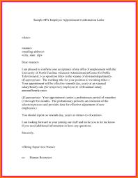 Confirmation Extension Letter Format sle joining letter format for employee fresh internship offer
