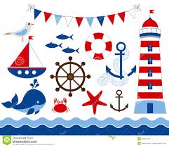 nautical set royalty free stock image image 38350746