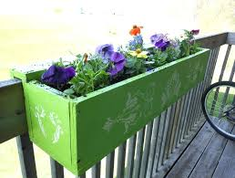 deck railing planters 3 deck rail planter box ideas u2013 godiet club