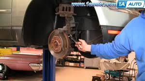 how to install replace do a front brake job chrysler pacifica 04