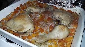 recette riz cuisiné recette de riz cuit au four au jambon tomate courge et poulet