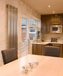 Designer Kitchen Radiators Stainless Steel Radiators Elevato Vertical Brushed Chrome