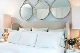 Headboard With Mirror by 4 Fixes For The Blank Space Above Your Bed Wayfair