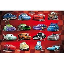 amazon cars disney pixar movie poster print regular