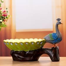 Wedding Shoes In Sri Lanka Sri Lanka Blue Peacock Fruit Plate Decorative Plate Molding Resin