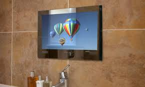 bathroom cabinets proofvision tv bathroom mirror television