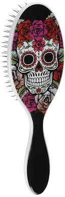 amazon com brush pro detangle hair brush sugar skulls