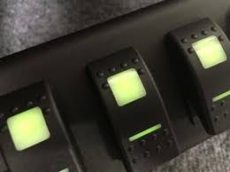 led light controllers automotive light switch black oak led