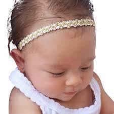 headband for babies gold baby headband baptism headband baby headpiece baby