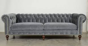 gray chesterfield sofa sofa gray chesterfield sofa velvet microfiber grey linen light