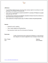 Mba Resume Format by Mba Resume Format Exol Gbabogados Co