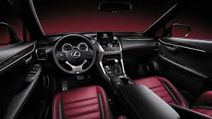 lexus nx black red interior lexus nx unveiled at beijing motor show lexus