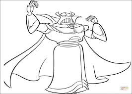 zurg coloring coloring