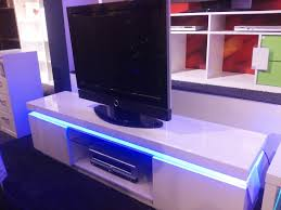Simple Tv Cabinet With Glass Rgb Led Lights Edge Lit Glass Tv Table Backlighting Install Lcd Tv
