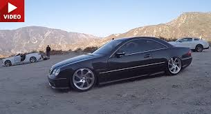 mercedes cl55 amg how does a bagged mercedes cl55 amg drive like