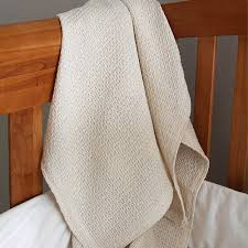 natural cribs organic cotton waffle weave baby blankets crib blankets