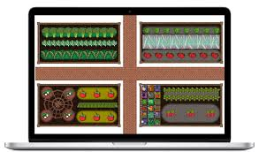 create garden plans with garden design apps family food garden