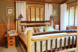 Log Home Bedroom Decorating Ideas by Rustic Decorating Western Themed Rooms Man Caves Fox Den Rd