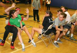 Music Chair Game Musical Chairs Is Played For Keeps In Del Val U0027s Senior Olympics