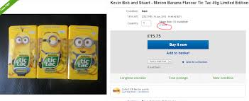 where to buy minion tic tacs minions banana tic tacs 49g 1 poundland hotukdeals