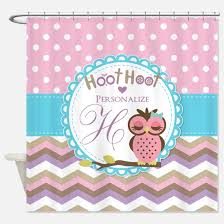 Owl Fabric Shower Curtain Baby Owl Shower Curtains Baby Owl Fabric Shower