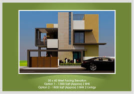 Row House Front Elevation - upcoming residential villas beml mysore one