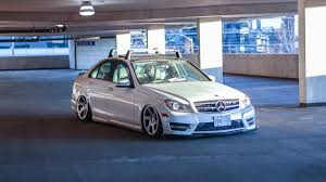 bagged mercedes c class iso bags for w204 4matic mbworld org forums