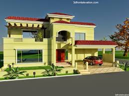Architectural Design Of 1 Kanal House 3d Front Elevation Com 60 U0027 X 100 U0027 Wapda Town 1 Kanal House Design