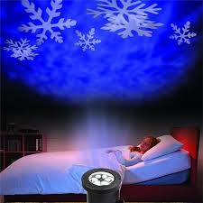 Laser Light Decoration White Snowflake Projector Waterproof Outdoor Christmas Lights Led