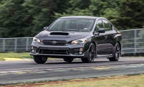 subaru sti 2017 subaru wrx performance package at lightning lap 2017 feature