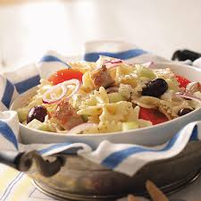 mediterranean tuna pasta salad recipe taste of home