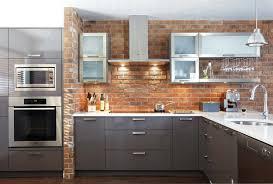 briques cuisine awesome cuisine brique grise pictures design trends 2017