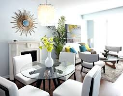 Living Room Sets For Apartments Apartment Dining Room Table Small Apartments Big Style Eclectic