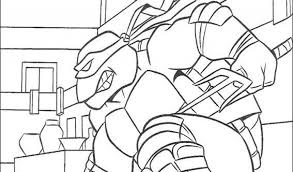 teenage mutant ninja turtles colouring pages free coloring