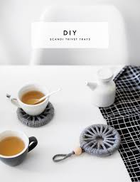 Home Decor Tutorial by Diy Scandi Trivet Tray Home Ideas Craft Tutorial Home Decor