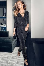 h m jumpsuit sparkle and shine in a ready jumpsuit romp around