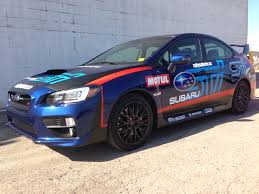 rally subaru lifted rally subaru car wrap edmonton signs graphics u0026 installation