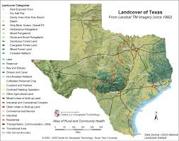 Texas Beaches Map Center For Geospatial Technology